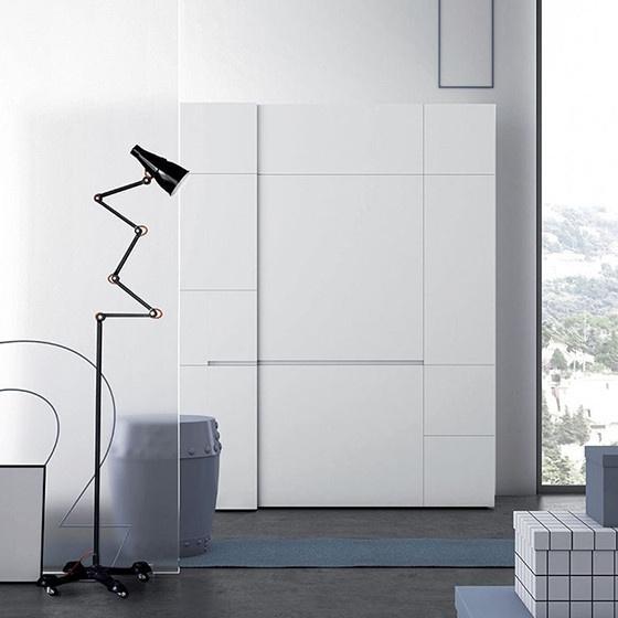 armario modular puertas cristal crea portada