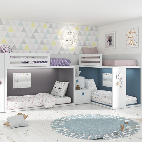 cuatro camas literas rubbik 4 portada