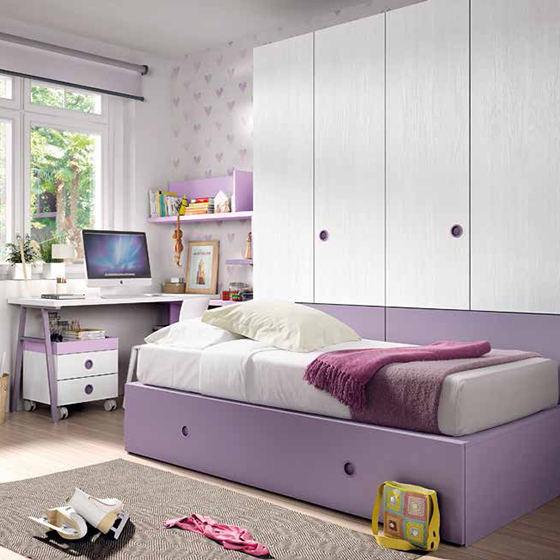 dormitorio camma bloc armario y escritorio portada