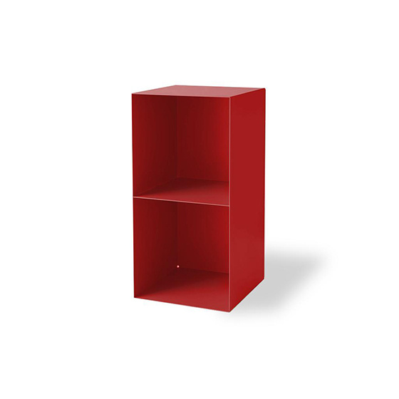 cajon libreria division rojo