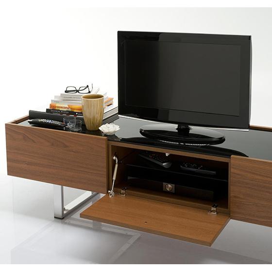 Mueble para tv madera mueble para tv vinilos equipo audio for Mueble compacto tv