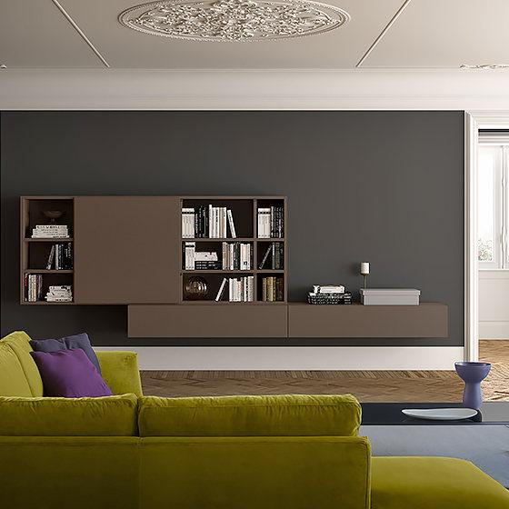 programa de muebles de salon spazioteca   Home Interiores Muebles ...