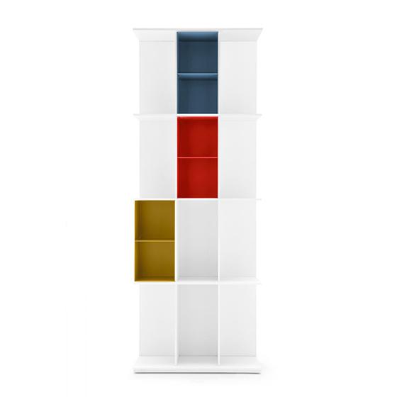 libreria division blanco grande 3 huecos