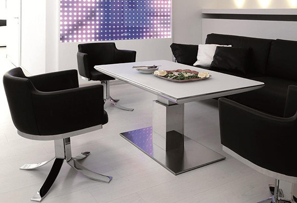 Ozzio Mesas Mesa transformable e motion